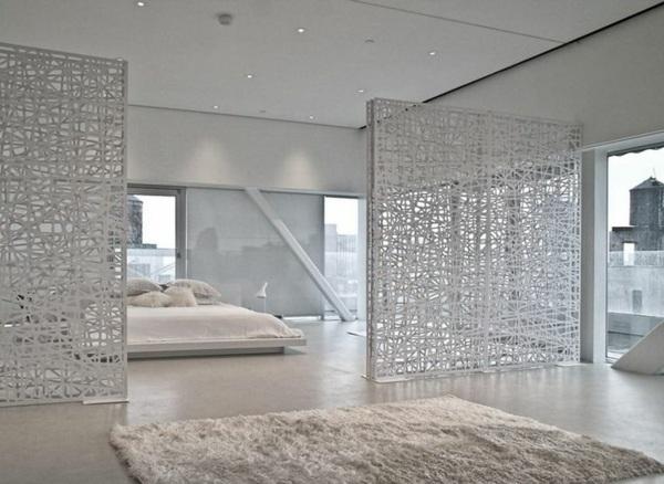 Tapis blanc pour une maison harmonieuse et lgante