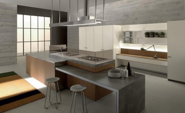 Design de cuisine de style minimaliste ides damnagement