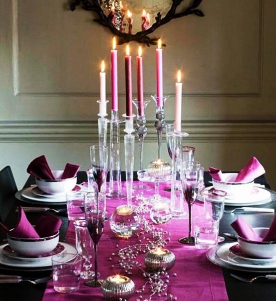 Ides De Dcoration Pour Nol En Couleur La Salle Manger