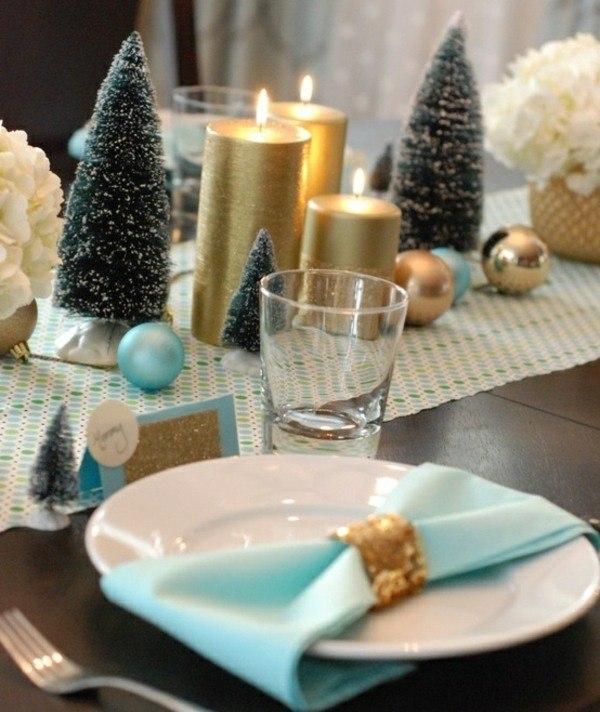 20 Ides Table De Nol Dcoration Adorable Et Originale