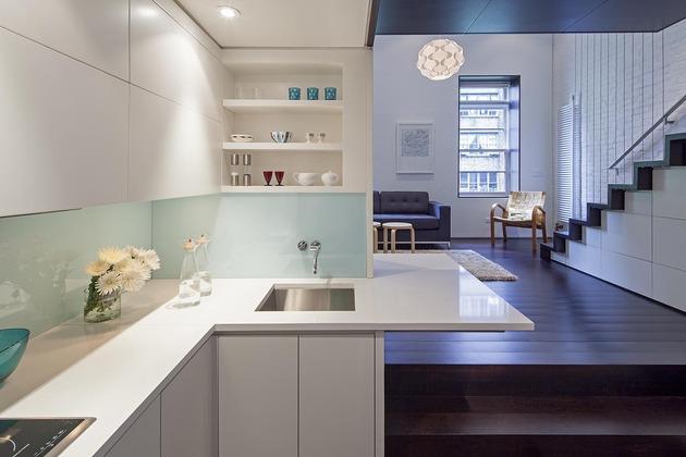 Loft design newyorkais  un usage despace optimale