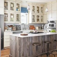 Reface Old Kitchen Cabinets Ikea Freestanding Meuble Vintage En Cuisine : 30 Photos D'îlots Très Stylés