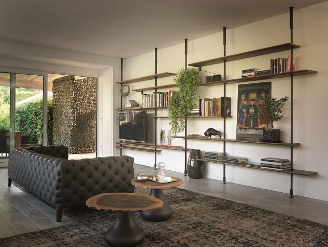 Hausbar Modern Handmade Log Kitchen Cabinets By Viking Log