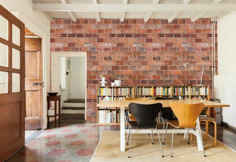 3d Tiles Live Wallpaper Papier Peint Brique Pour Un Salon De Style Industriel
