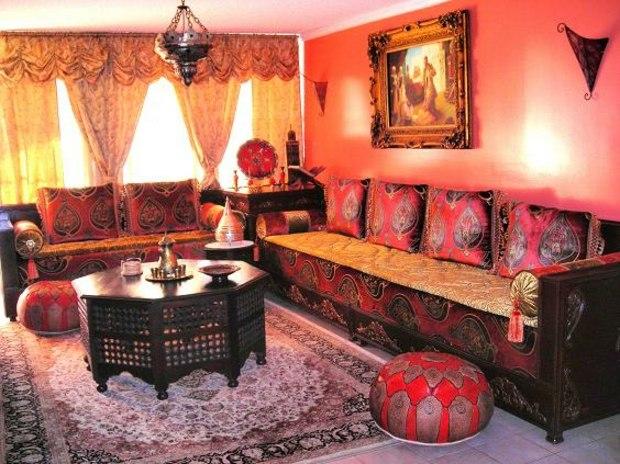 Le Salon Marocain Design Du Caractre Et De Llgance