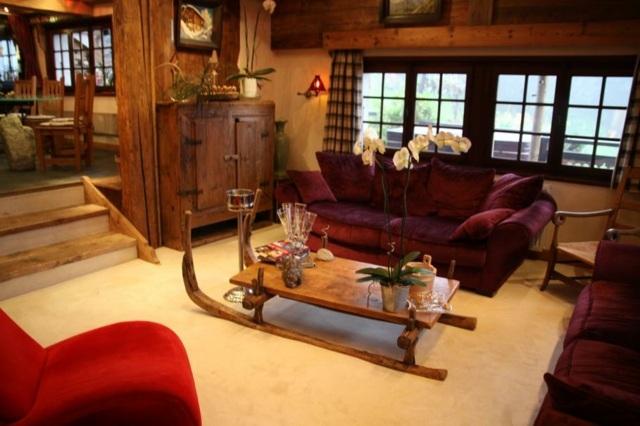 Dco salon rustique  atmosphre chaleureuse et naturelle