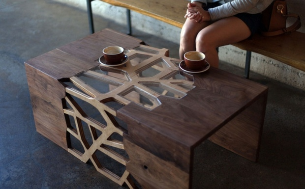 La Table Design Se Mtamorphose En Oeuvre Dart