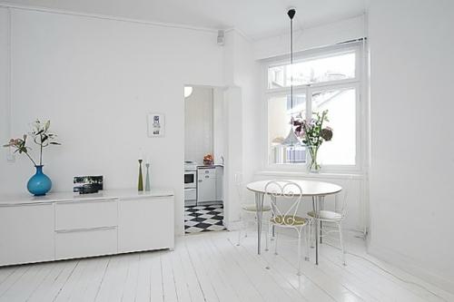Un design minimaliste pour un petit appartement
