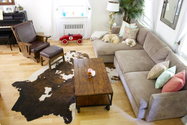 living room couch and loveseat layout decorating with leather furniture ideas tapis de salon moderne en 25 exemples et quelques astuces