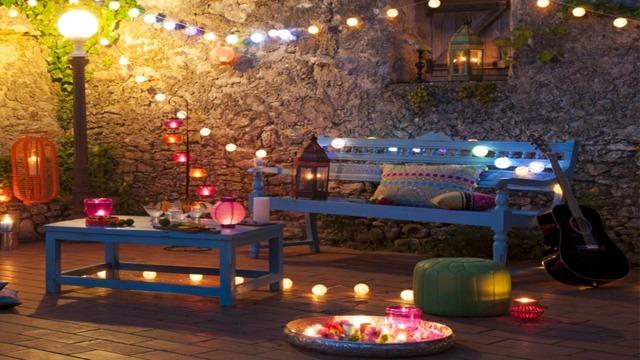 La Belle Terrasse Style Mexicain Mme En Automne