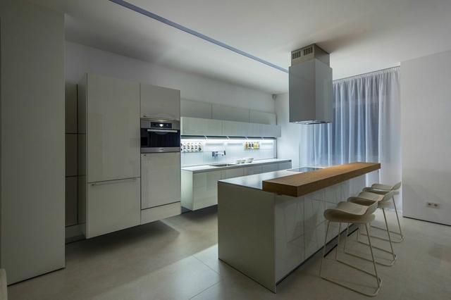 Appartement Moderne Minimaliste Par Ivan Yurima