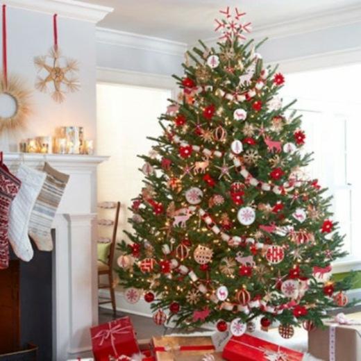 L'arbre de noel decoration