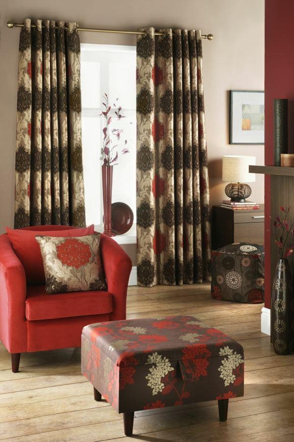 Rideaux salon  30 ides de rideaux modernes