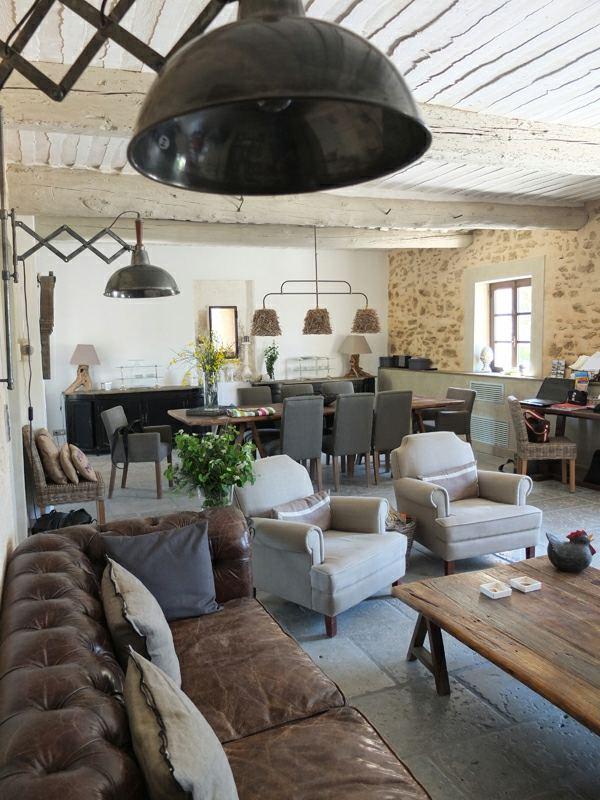 Salon dco style industriel en quelques exemples