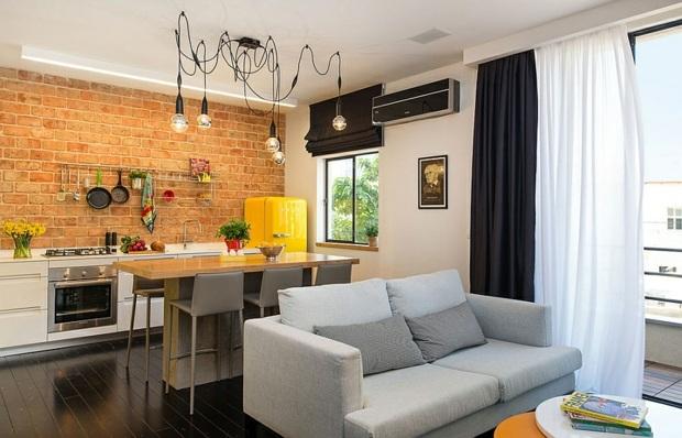 Rnovation appartement ingnieuse avec cloisons pliantes