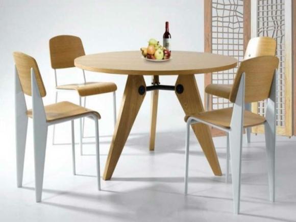 optez pour la table ronde de design moderne