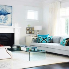 Living Rooms With Black Leather Sofas Wall Units Furniture Room L'aménagement Salon Illustré En 15 Exemples Inspirants