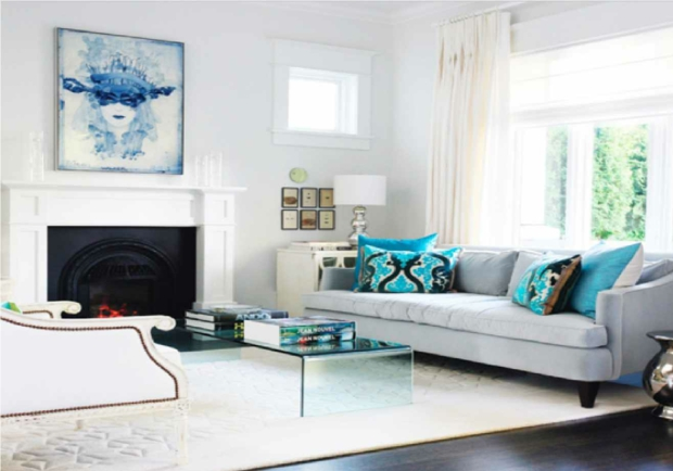 living rooms with black leather sofas wall units furniture room l'aménagement salon illustré en 15 exemples inspirants