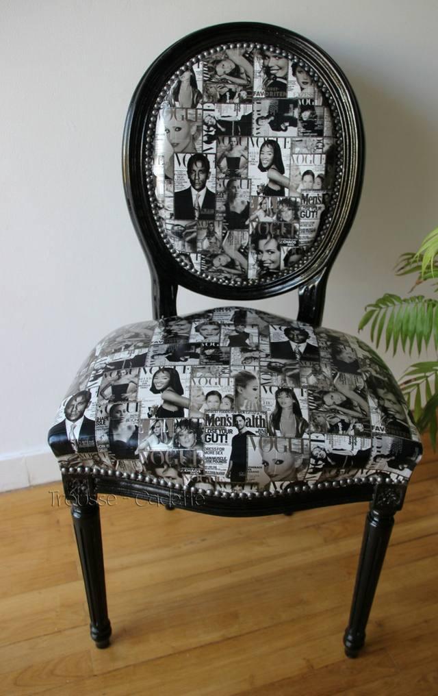 chaise mdaillon de Louis XVI  Philippe Starck