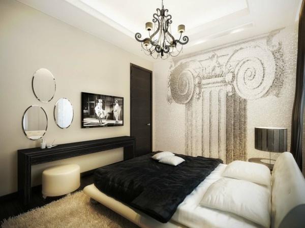 Chambre Moderne Noir Et Blanc | Une Déco Scandinave ...