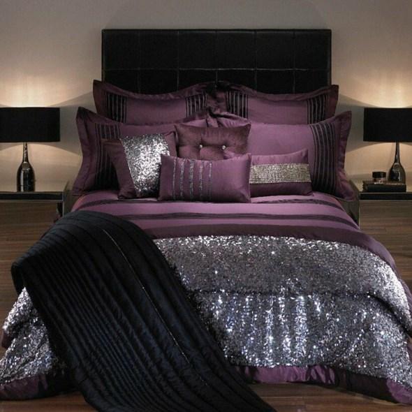 20 ides de dcoration chambre violet lgante