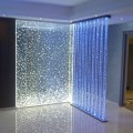 Decoration mural eau led verre