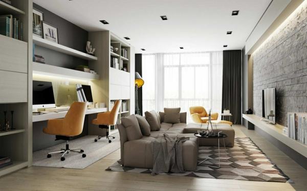 Quelques ides de dcoration salon dans un style moderne