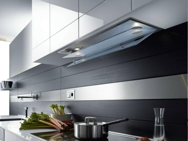 Meuble cuisine  choisir une hotte de design moderne