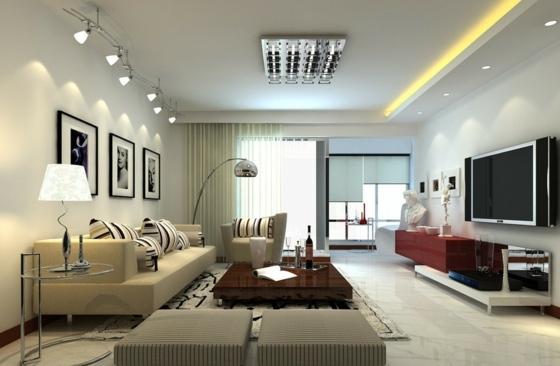 Wohnzimmerleuchten Modern