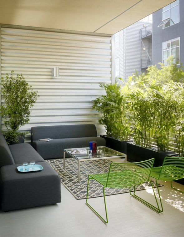 La Dcoration Terrasse Appartement En 20 Ides Fraiches
