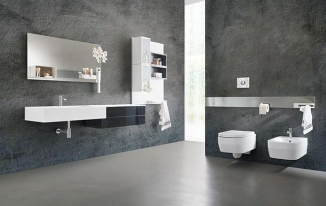 Meubles salle de bains en quelques uniques conceptions