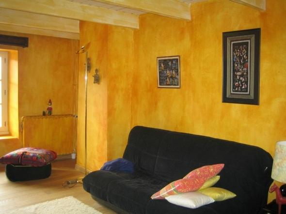 Peinture salon des ambiances en couleurs