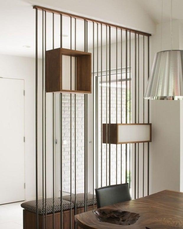 Meubles design separateur de piece beau idees l for Meuble separation de pieces design