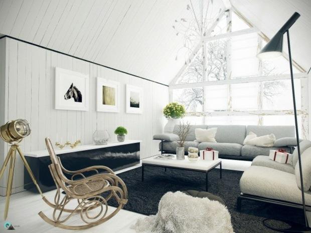 Le Canap Moderne Design Sinscrit Dans Un Salon Lgant
