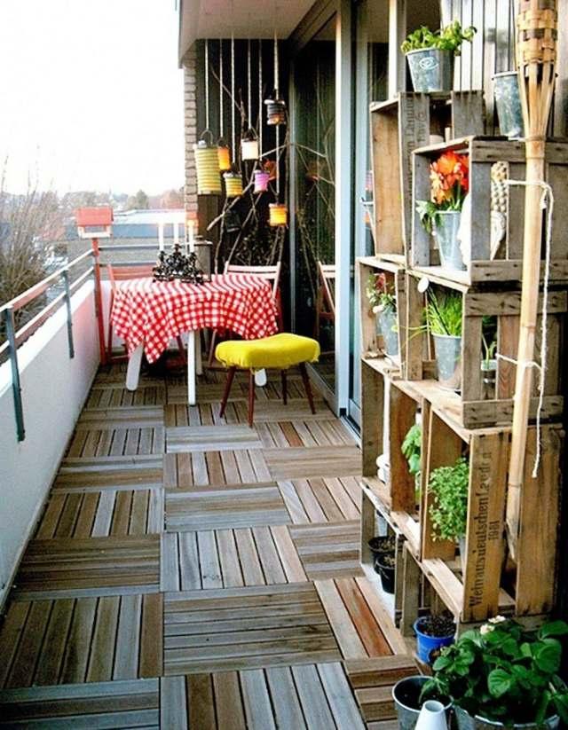 Dcoration balcon 20 exemples fleuris et accueillants