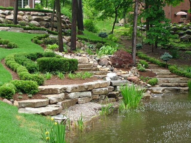 Large Pond Landscaping