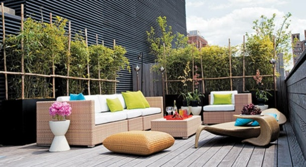 Amnagement terrasse extrieure  ides dco