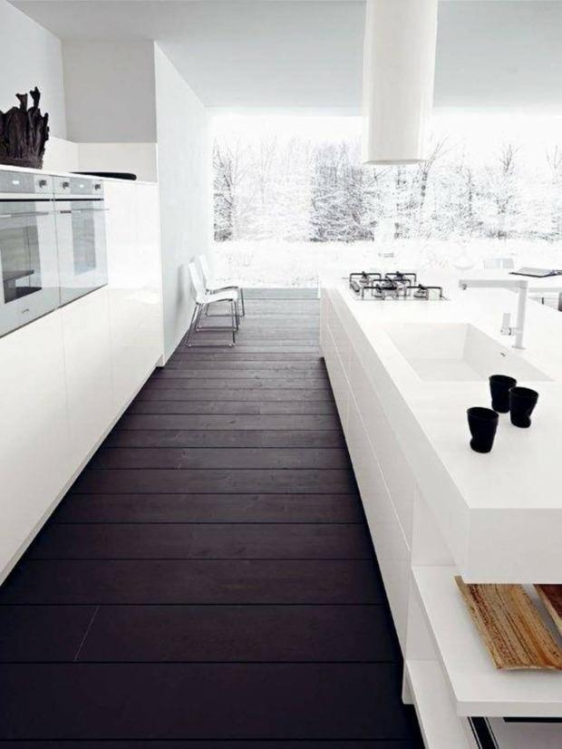 cuisine plan de travail marbre