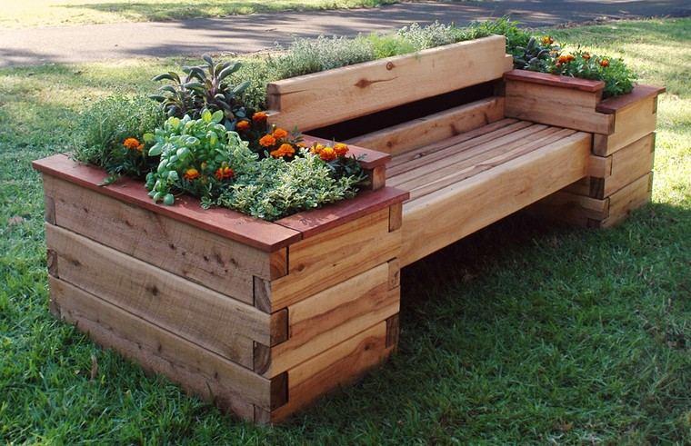 banc de jardin en palettes un choix