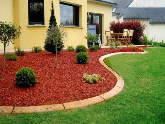 Bordure Jardin Osier Tresse - Décoration de maison idées de design d ...