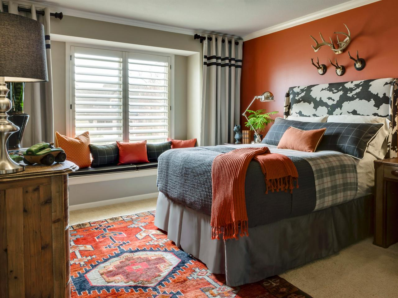 Chambre Gris Et Orange | Emejing Chambre Orange Et Marron ...