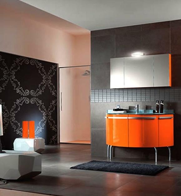 Dco Salle De Bain En Orange Quelques Ides Originales