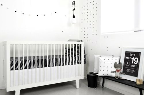 decoration chambre bebe fille moderne design