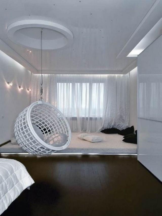 Fauteuil suspendu  un meuble au design amusant et styl