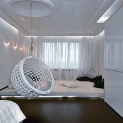 Hanging Chairs With Stand For Bedrooms Chair Slipcover Pattern Fauteuil Suspendu : Un Meuble Au Design Amusant Et Stylé