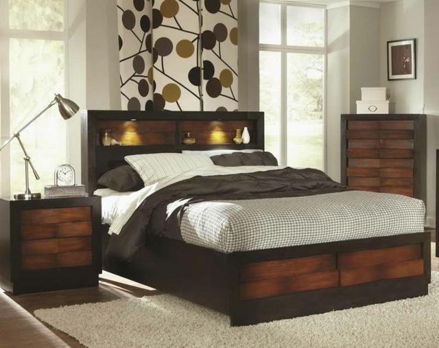 Tte de lit avec rangement fonctionnelle et pratique