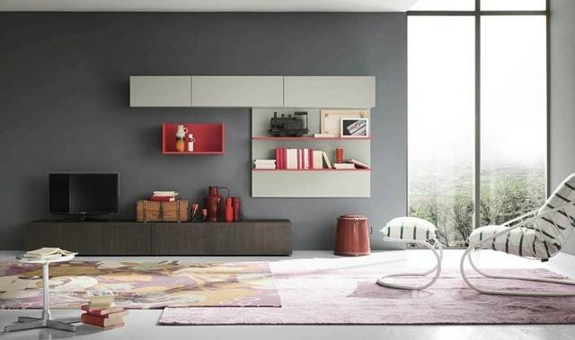 le meuble mural salon quelques