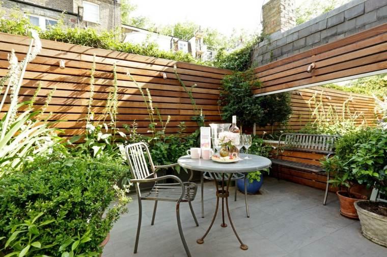 petit jardin moderne amenagement