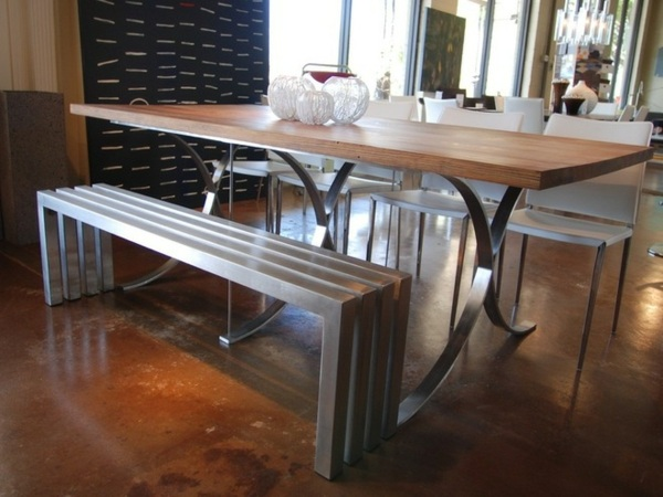 La Table Avec Banquette Parfaite Pour La Salle Manger
