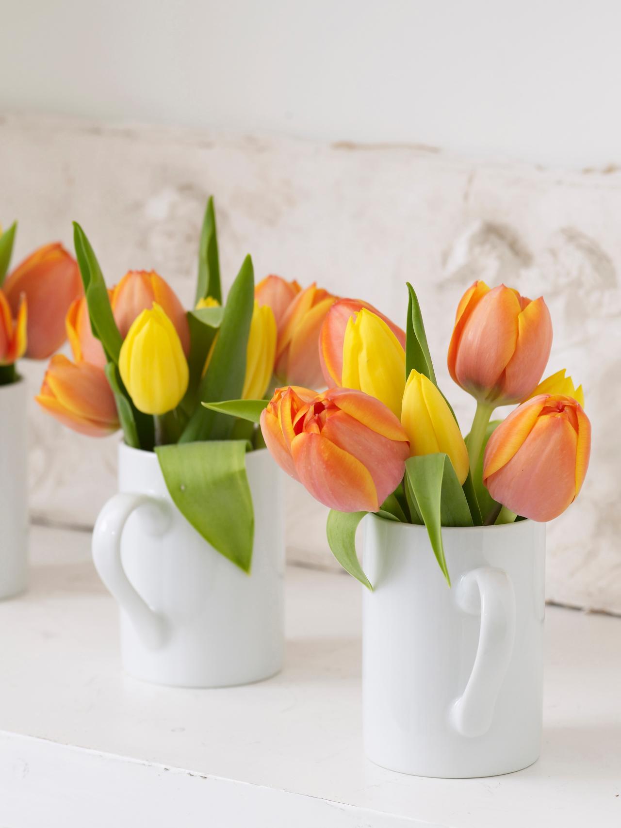 Les fleurs  la meilleure dcoration maison au printemps